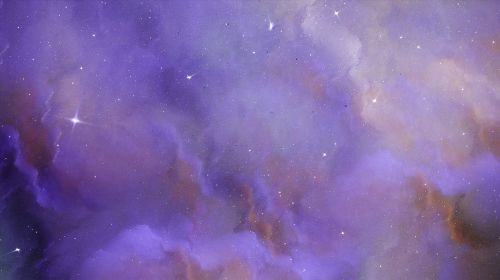 fractal space painting