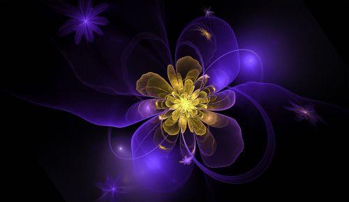 fractal flower floral