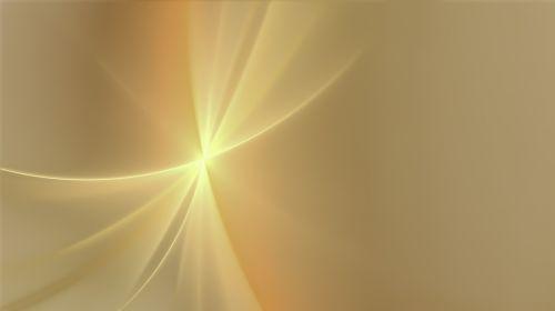 fractal orange gold