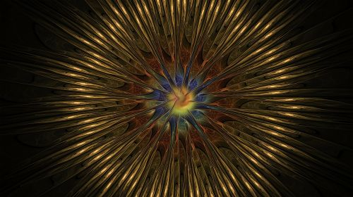 fractal golden spiral