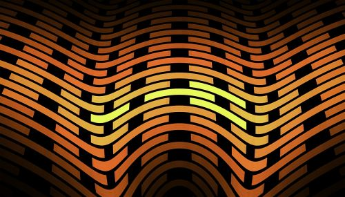 fractal orange texture