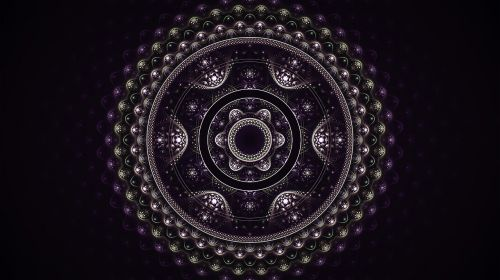 fractal mandala circles