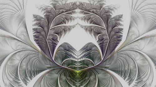 fractal white design