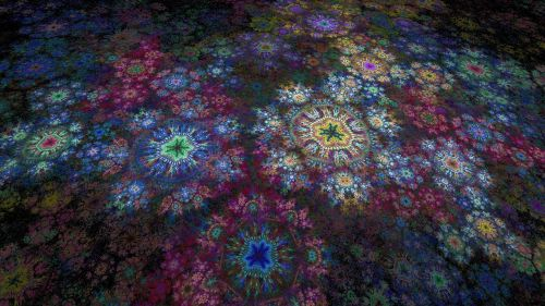 fractal digital art self similar
