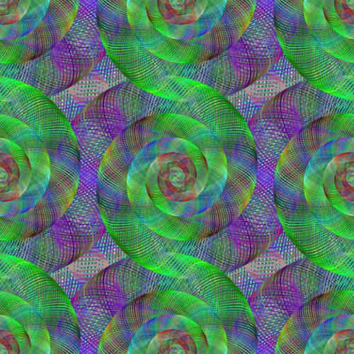 fractal spiral swirl