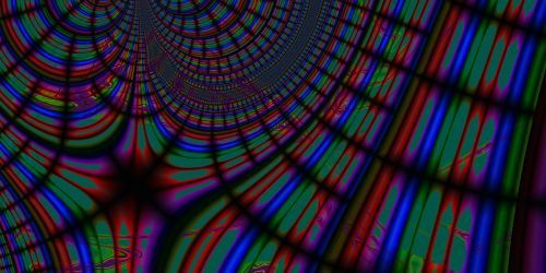fractal gradient abstract