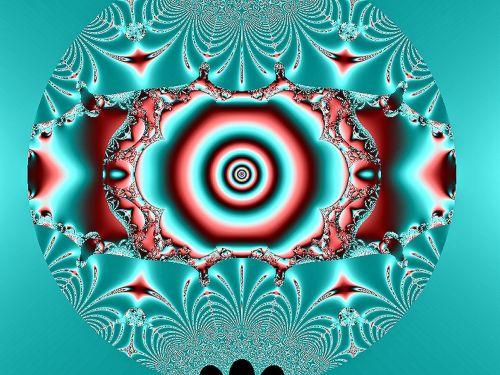 fractal green fantasy