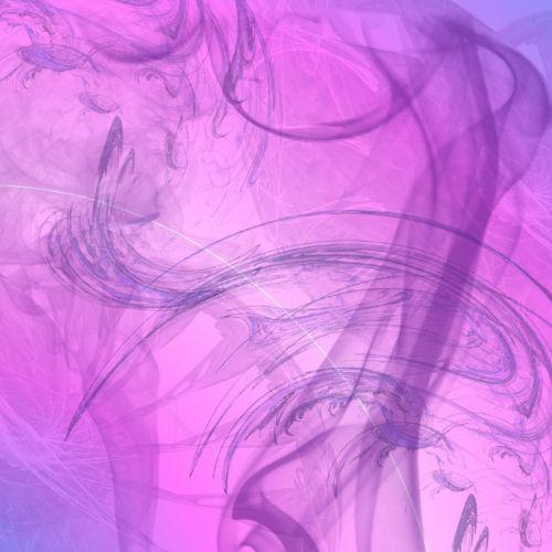 fractal smoke pink