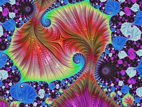 fractal art fractal colorful