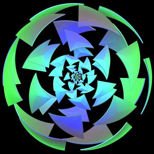 fractal puzzle fantasy globe