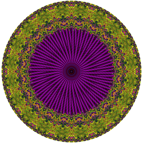 fractals photoshop circle