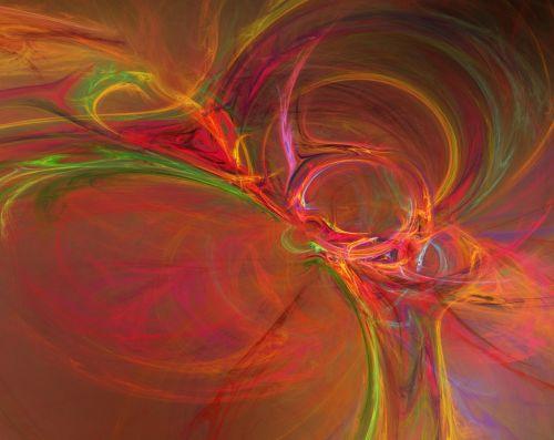 fraktalai,oranžinė,raudona,apophysis