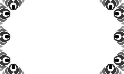 frame picture frame motif