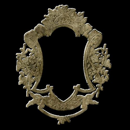 frame floral ornate