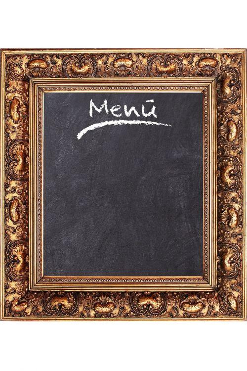 frame board menu