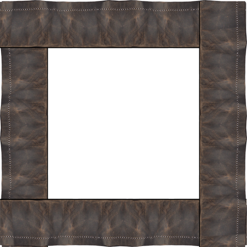 frame brown leather