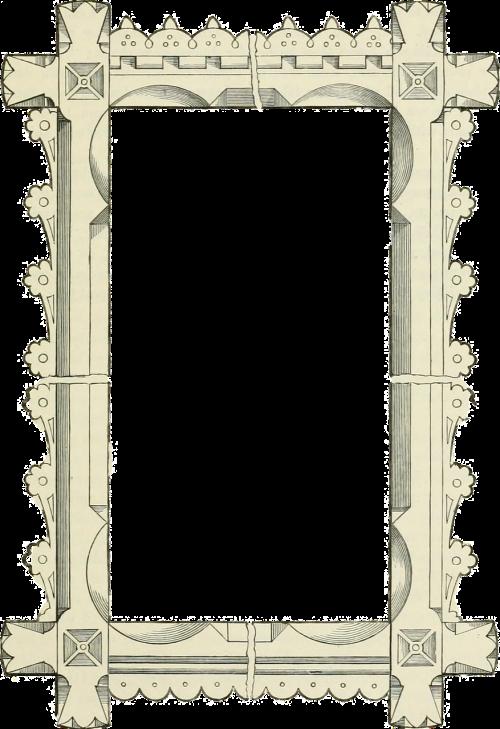 frame old vintage