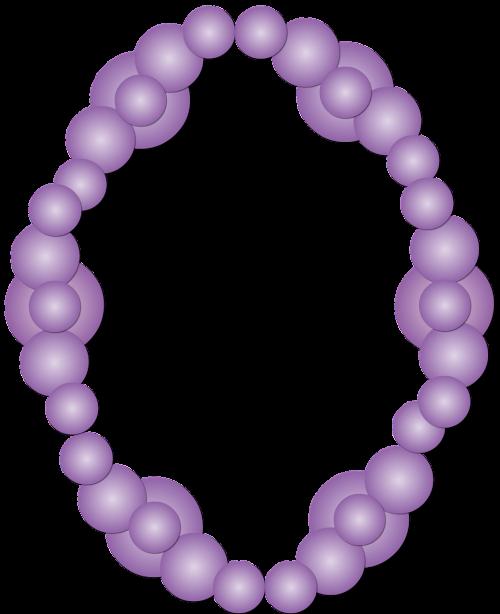 frame purple circles