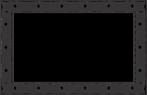 frame decoration garnish