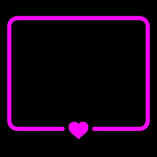 frame photo frame pink