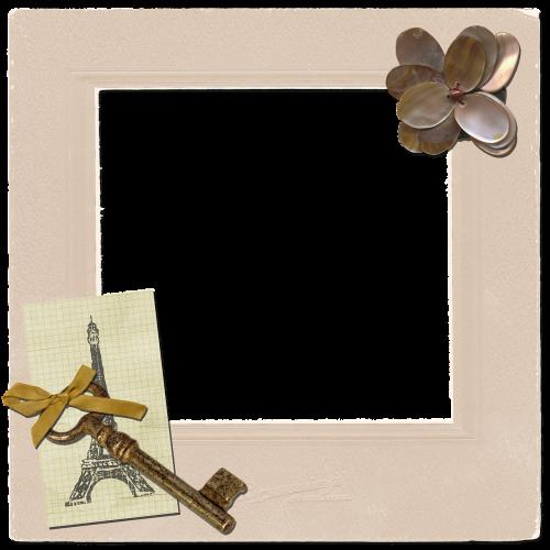 frame vintage key