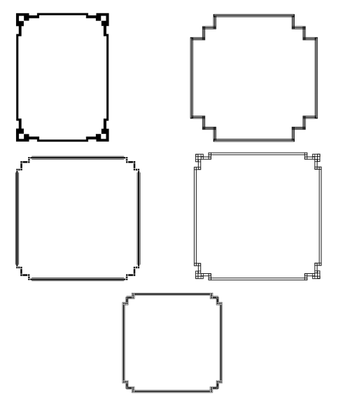 frame border deco