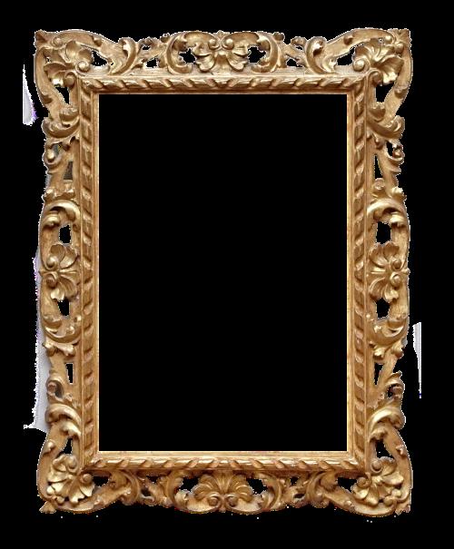 frame ornate gold
