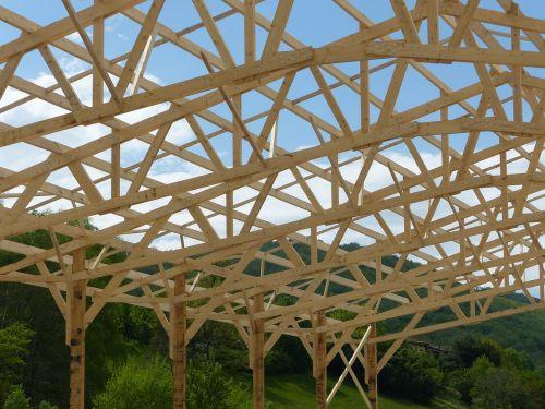 frame hangar wood