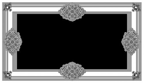 frame border celtic