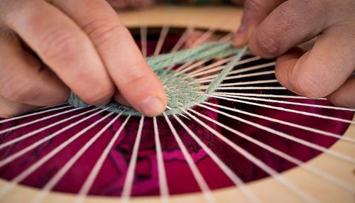 frame weaving lana
