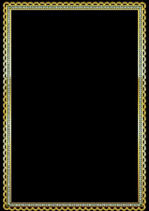 frame  gold  decorative