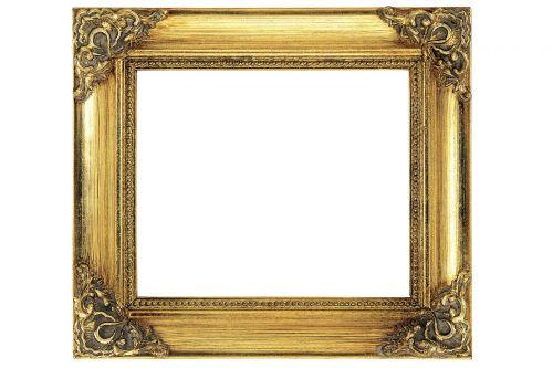 frame gold antique