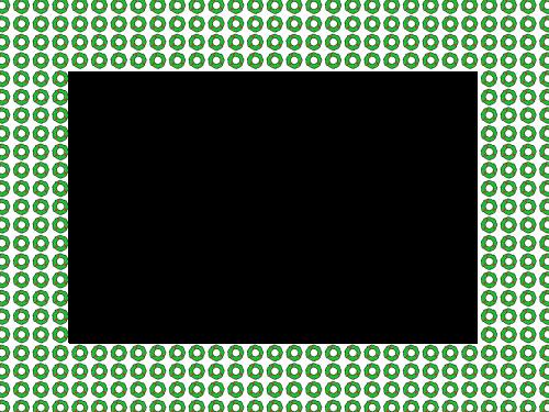 frame points pattern