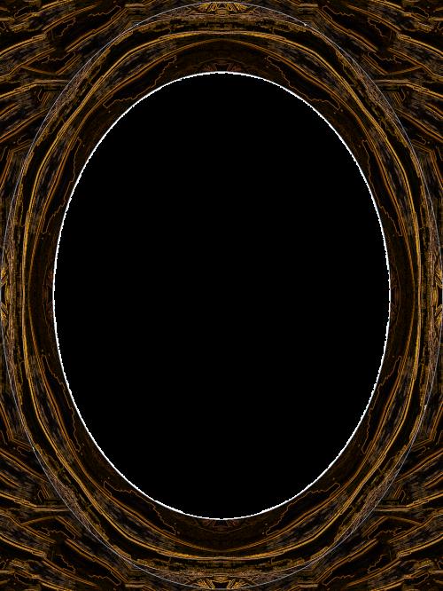 frame photo frame oval