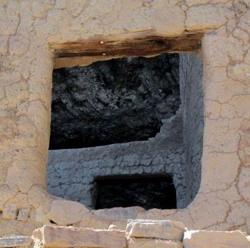framed indian ruins room