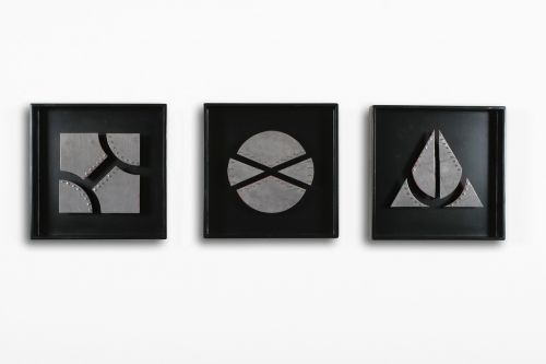 frames wood geometric
