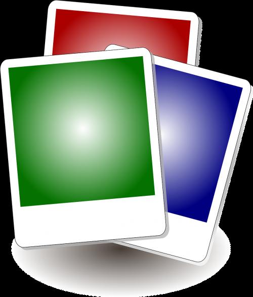 frames colorful squares