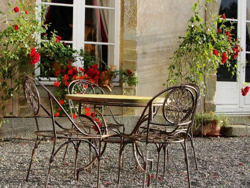 france garden chateau