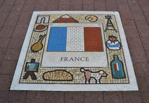 france team emblem flag