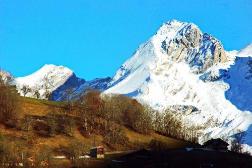 france alps mountain
