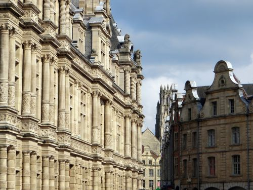 france arras facades