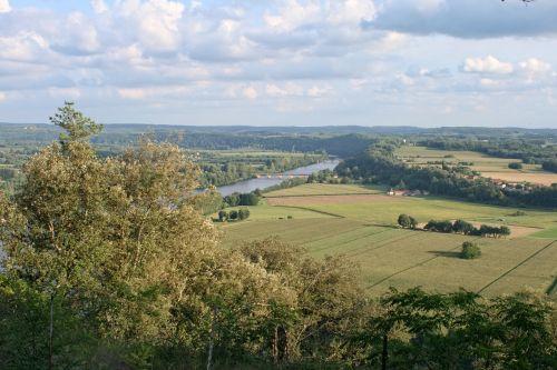 france dordogne landscape