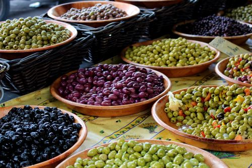 france olives south of france