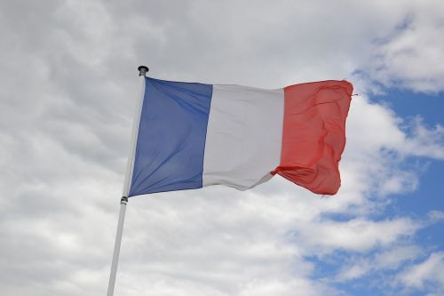 france flag tricolor