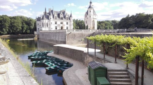 france château de chenonceau châteaux de la loire