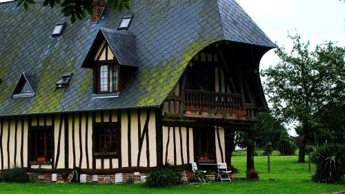 france normandy house