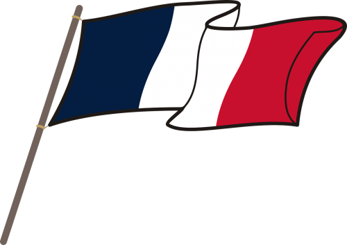 france flag graphics