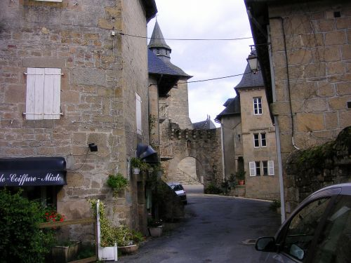 france french houses village