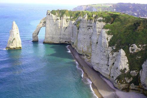 france normandy coast