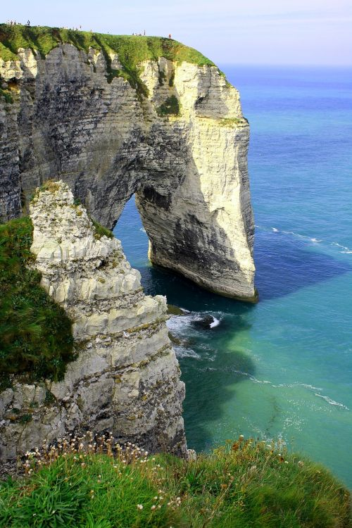 france normandy coast